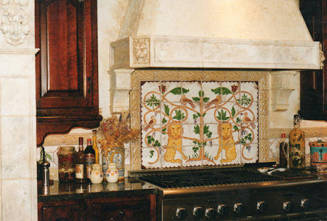 Quot The Art Of Scott Yablonski Quot Kitchen Backsplash Murals